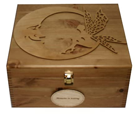 Personalised Rustic Pine Wooden Keepsake Memory Box Decorative Extraordinary Decorative Keepsake Memory Boxes