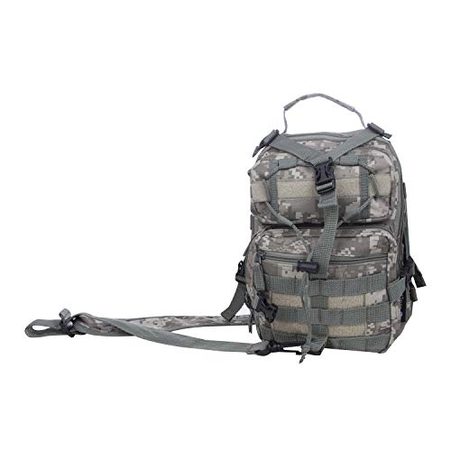 - Extreme Pak Back Sling Backpack, Compact Storage and Convenient Carrying for People On The Go, Digital Camo, 11-inch