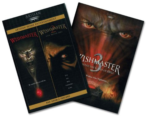 Ricco Collection - Wishmaster / Wishmaster 2: Evil Never Dies / Wishmaster 3: Beyond the Gates of Hell