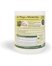 Grünspecht 676-00 Biologisch verzorgings-/luiervlies 120 vellen, wit