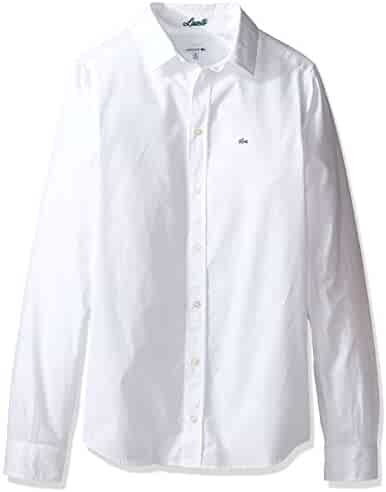 32ba3238da7a5d Shopping Lacoste - Button-Down   Dress Shirts - Clothing - Boys ...