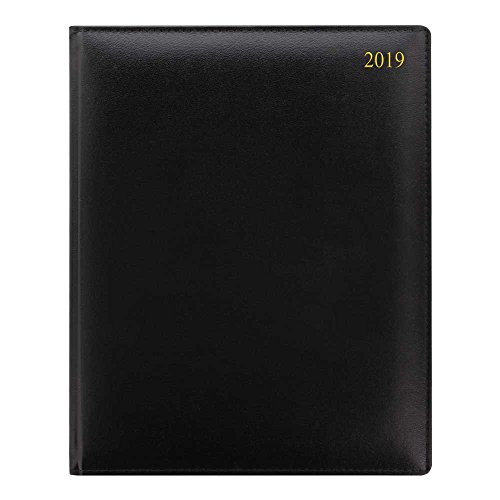 (Lett's Signature Week to View 2019 Appointment Book, Black, 9.5 x 7 inches (C38VBK-19))