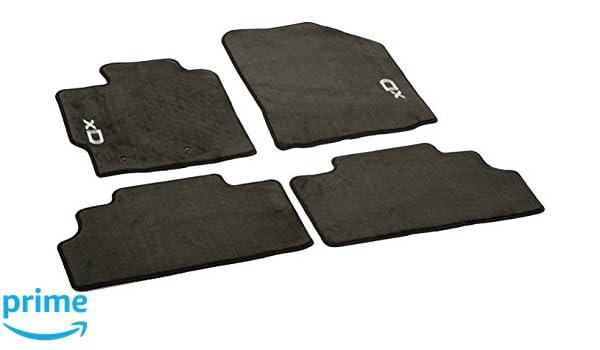 Coverking Custom Fit Front Floor Mats for Select Isuzu Trooper Models CFMAX1IS9015 Nylon Carpet Black