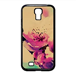 Cherry Blossom Macro Watercolor style Cover Samsung Galaxy S4 I9500 Case (Spring Watercolor style Cover Samsung Galaxy S4 I9500 Case)