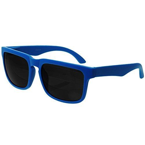 Original Oramics Wayfarer Nerd Sonnenbrille in Blau