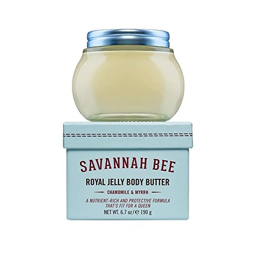 Royal Jelly Body Butter Sensitive Skin with Chamomile & Myrrh by Savannah Bee Company - 6.7 Ounce Jar ()