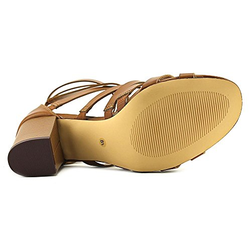 Bar Iii Dames Kosta Open Teen Casual Strappy Sandalen Donkerbruin