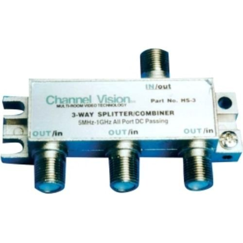 Combiner Video Splitter - CHANNEL VISION HS-3 3-Way PCB Based Splitters/Combiner