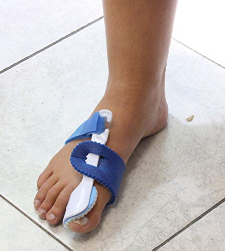 (Set/2) Night Toe Regulator Rigid Splint To Cushion And Aligns The Big Toe by CCV Inc.