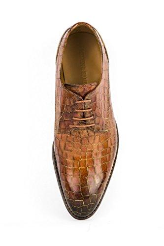 Melvin & Hamilton - Zapatos de cordones de Piel Lisa para hombre marrón marrón 42