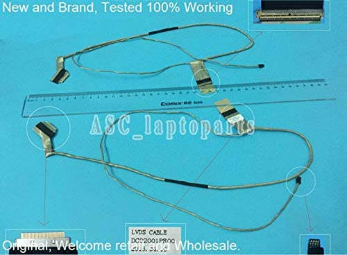 Cable Length: Other Computer Cables Original LCD LED Video Flex Cable for Lenovo G500 G505 G510 G500s G505s Laptop Screen Display Cable DC02001PR00