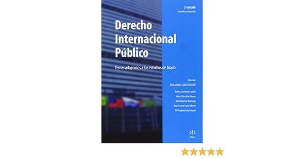 Derecho Internacional Público - Temas adaptados a los ...