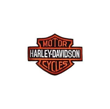 Parche para Harley Davidson, logotipo B&S Media, 13 x 9,5 cm ...