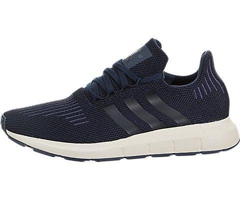 c5b2141bb15 adidas Originals Swift Run Navy/Black/Trace Blue Men's Running Shoes (11)