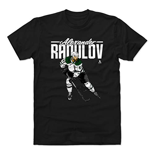 - 500 LEVEL Alexander Radulov Cotton Shirt (Medium, Black) - Dallas Stars Men's Apparel - Alexander Radulov Grunge W WHT