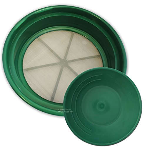 Sifting Pan Plastic Size 11in Bottom DIA,13.1/4in TOP D