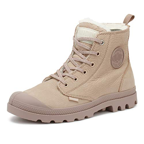 - Palladium Pampa Hi Zip WL Womens Rose Dust Boots-UK 4