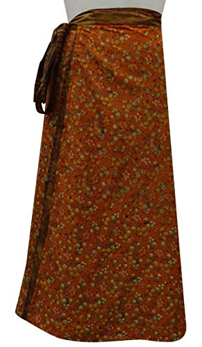 et Wrap Soie Rouge rversible Check Beach Orange Saree Femmes Brown Dress Imprimer Vintage Pure Les Summer Indianbeautifulart wq8vSXzZS