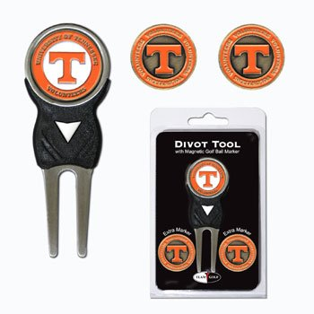 Tennessee University Golf Divot Tool w/ Three Double Sided Ball