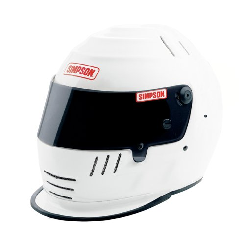 - Simpson Racing 1786581 Jr. Speedway Shark Large White Shark Helmet