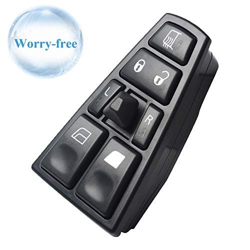 - Fits 20752918 Front Left Master Power Window Control Switch Replacement for 2004-2012 Volvo Truck VNL, VNM, VN, FM, FH12
