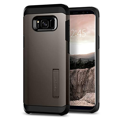 (Spigen Tough Armor Designed for Samsung Galaxy S8 Case (2017) - Gunmetal)