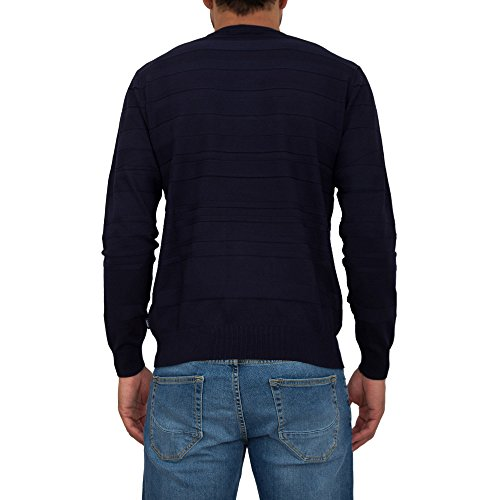Armani Jeans Men's Navy Blue Jumper
