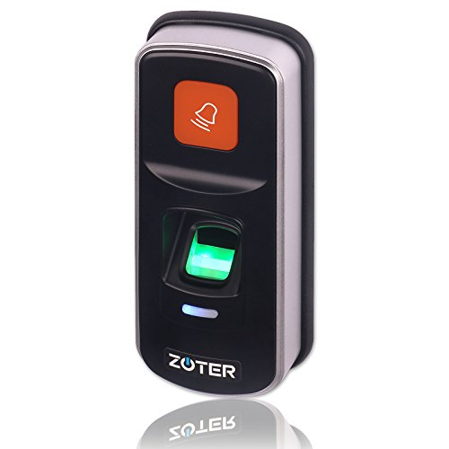 Fingerprint Access Controller, ZOTER RFID Card Access Control Reader Home Office Security System 125KHz by ZOTER