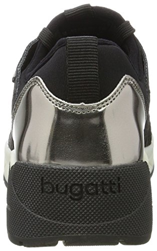 422277615000 Negro para Schwarz Zapatillas Bugatti 1000 Mujer UxdOIUq