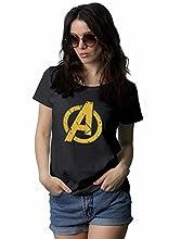 Women Yellow A Logo Shirt