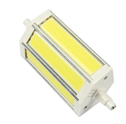 JKLcom R7S COB LED Bulbs R7S 118mm 15W Not Dimmable COB Light Floodlight Double Ended j Type Tungsten Halogen Bulb Replacement (Daylight White) by JKLcom (Image #3)
