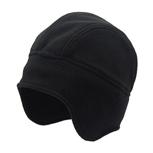 SamiTime Outdoor Winter Warm Skull Cap Windproof Fleece Earflap Hat Runner Cap