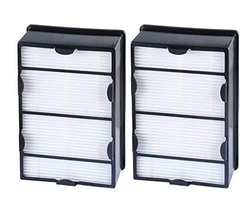 AF Compatible 2 pcs Filters Replacements for Holmes B Filters HAPF600PDQ, HAPF600CS, HAP615 Air Purifiers