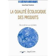 Qualite ecologique des produits