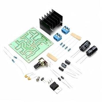 kit de amplificadores de potencia a bordo de una sola pista TDA2030 TDA2030A bricolaje