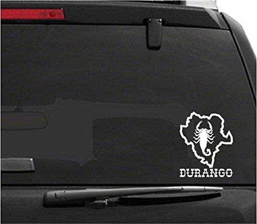 Jeyfel Decals: Alacran Durango Mapa México Vinyl Decal Sticker. Car, Window, Wall...Alacran Durango Mapa México (10