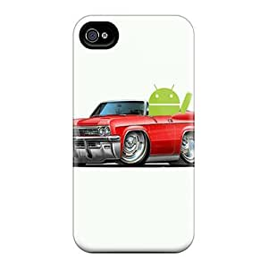 Excellent Design Android Phone Case For Iphone 4/4s Premium Tpu Case