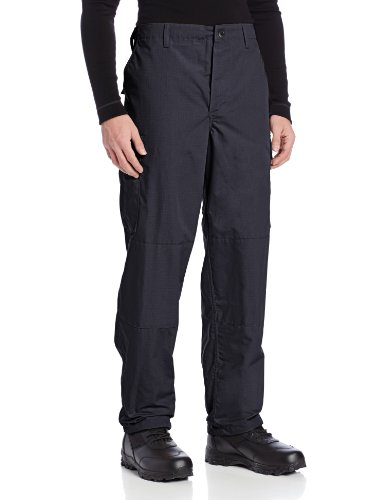 TRU-SPEC Men's Polyester Cotton Rip Stop BDU Pant, Navy, Medium