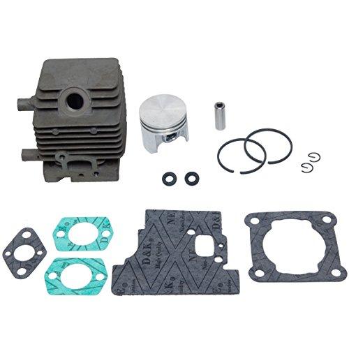 SPERTEK Cylinder & Piston Kit + Gasket Kit for Stihl FS75 FS80 FS85 34mm (W/2 Oil Seals)