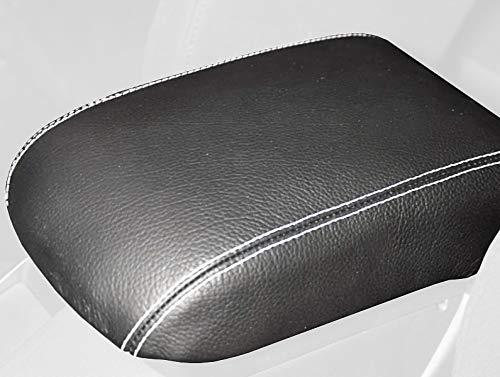 RedlineGoods ebrake Boot Compatible with Mazda Miata NA 1990-97 Black Alcantara-Silver Thread