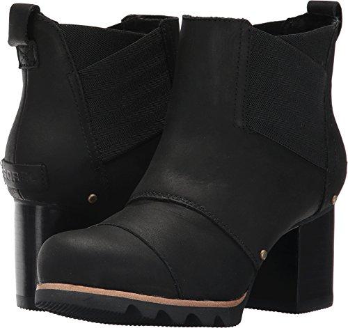 SOREL Women's Addington Chelsea Black Kettle Boot, 9.5 B(M) US