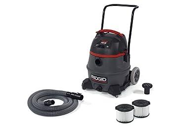 Ridgid 50373 RV3410 Smart Pulse Wet Dry Vacuum, 14 gal, Red