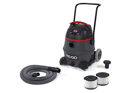 Ridgid 50373 RV3410 Smart Pulse Wet Dry Vacuum, 14 gal, Red