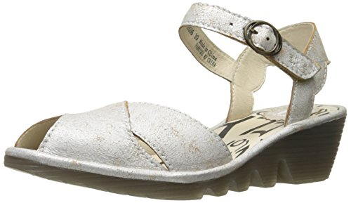 Voler Londres Femmes Pero706fly Wedge Sandale Perle Cool