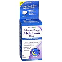Natrol Advanced Sleep Melatonin Tablets, Maximum Strength 10 Mg 60 Ea
