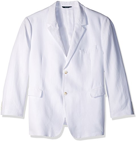 Perry Ellis Men's Tall Linen Suit Jacket, Bright White, 54 Big by Perry Ellis (Image #1)