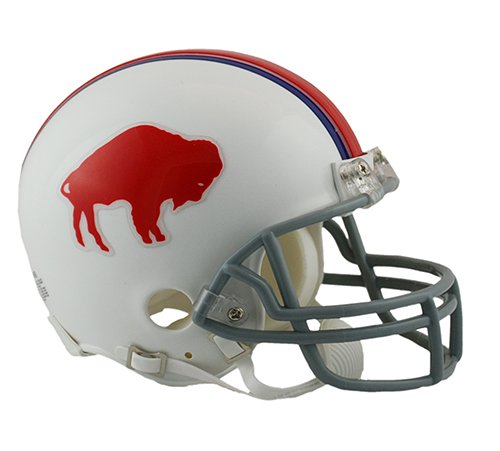 - Buffalo Bills 1965-73 Throwback NFL Riddell Replica Mini Helmet