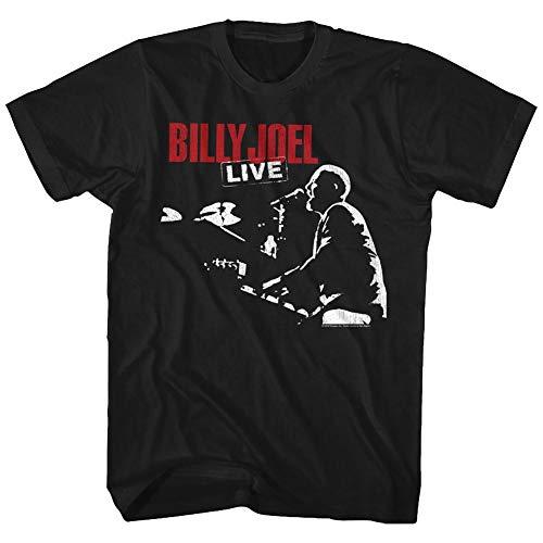 (American Classics Billy Joel T Shirt 81 Tour Adult Short Sleeve XXL)