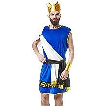 La Mascarade Olympian King Zeus Ancient Greek God Lord of Thunder Dress Up Halloween Costume