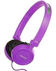 Edifier H650 Auriculares Hi-Fi On-Ear - Cascos de Diadema On-Ear con Aislamiento de Ruido Plegables y Ligeros para Niños y Adultos